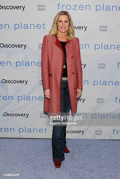 Cheryl Casone attends the Frozen Planet premiere at Alice Tully Hall Lincoln Center on March 8 2012 in New York City