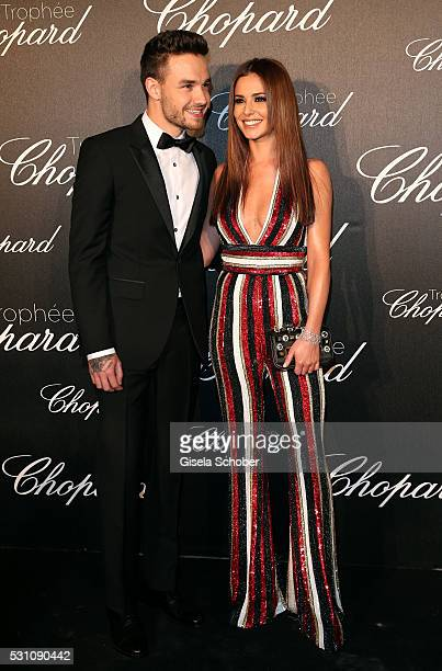Cheryl Cole and Liam Payne arrive at the Chopard Trophy Ceremony at the annual 69th Cannes Film Festival at Hotel Martinez on May 12 2016 in Cannes...