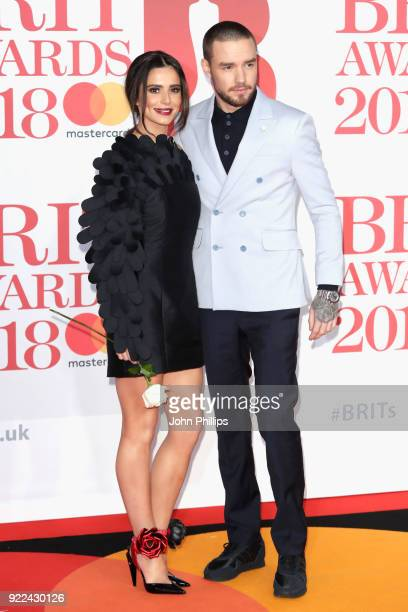 AWARDS 2018*** Cheryl Cole and Liam Payne attend The BRIT Awards 2018 held at The O2 Arena on February 21 2018 in London England