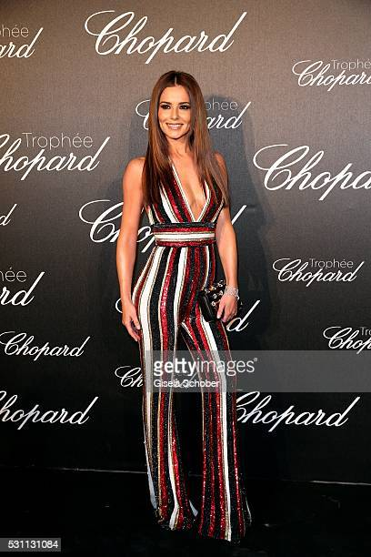 Cheryl Cole arrives at the Chopard Trophy Ceremony at the annual 69th Cannes Film Festival at Hotel Martinez on May 12 2016 in Cannes France
