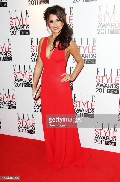 Cheryl Cole arrives at the ELLE Style Awards 2011 held at The Grand Connaught Rooms on February 14, 2011 in London, England.