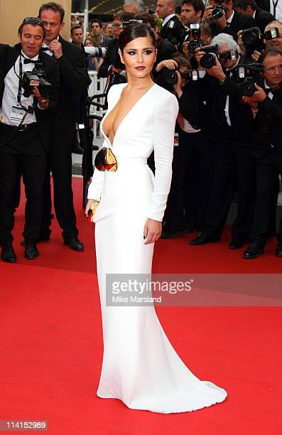 """Cheryl Cole arrives at the """"Habemus Papam"""" Premiere part of the 64th Cannes Film Festival at Palais des Festivals on May 13, 2011 in Cannes, France."""