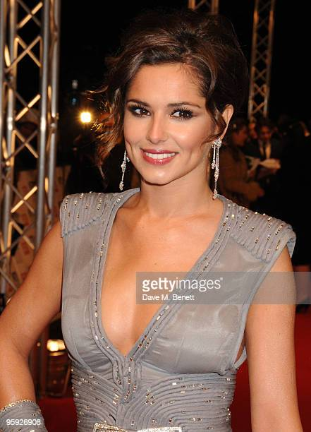 Cheryl Cole arrives at the National Television Awards at the O2 Arena on January 20 2010 in London England