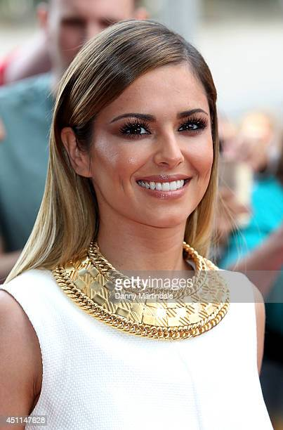 Cheryl Cole arrives for the London Auditions of X Factor at Emirates Stadium on June 24 2014 in London England