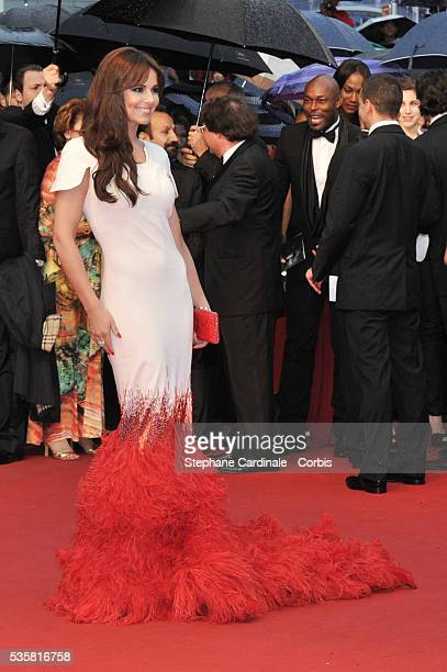 """Cheryl Cole at the premiere for """"Amour"""" during the 65th Cannes International Film Festival."""