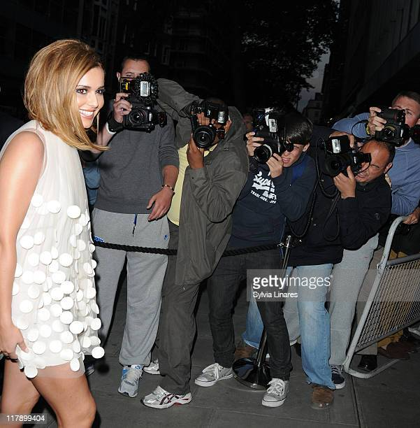 Cheryl Cole attends Cheryl Cole birthday party held at The Sanderson Hotel on July 1, 2011 in London, England.