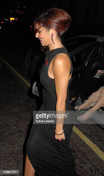 Cheryl Cole attends Pride of Britain Awards held at the Grosvenor House on November 8 2010 in London England