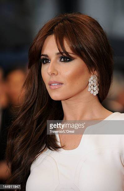 Cheryl Cole attends the 'Amour' premiere during the 65th Annual Cannes Film Festival at Palais des Festivals on May 20 2012 in Cannes France