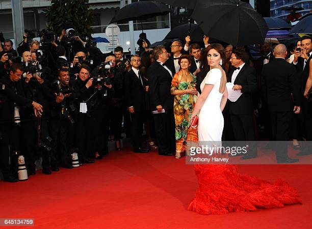Cheryl Cole attends the Amour Premiere during the 65th Annual Cannes Film Festival at Palais des Festivals on May 20, 2012 in Cannes, France.
