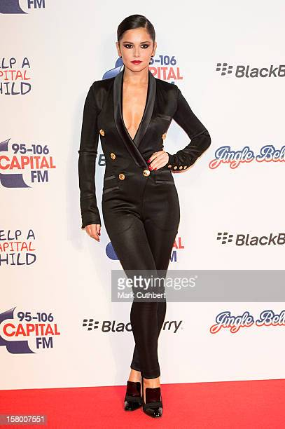 Cheryl Cole attends the Capital FM Jingle Bell Ball at 02 Arena on December 8 2012 in London England