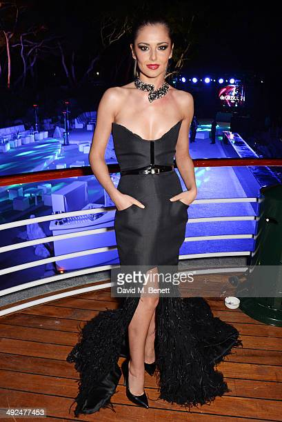 Cheryl Cole attends the de Grisogono 'Fatale In Cannes' party during the 67th Cannes Film Festival at Hotel du CapEdenRoc on May 20 2014 in Cap...