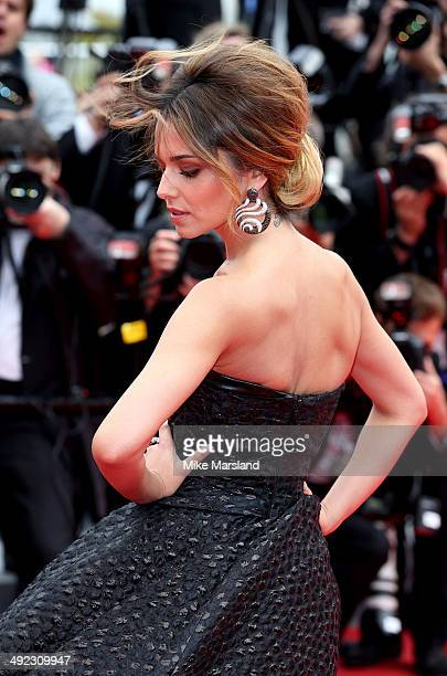 Cheryl Cole attends the 'Foxcatcher' Premiere at the 67th Annual Cannes Film Festival on May 19 2014 in Cannes France