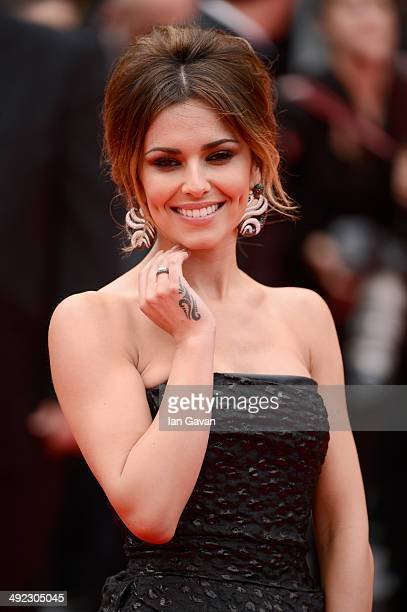 Cheryl Cole attends the 'Foxcatcher' premiere during the 67th Annual Cannes Film Festival on May 19 2014 in Cannes France