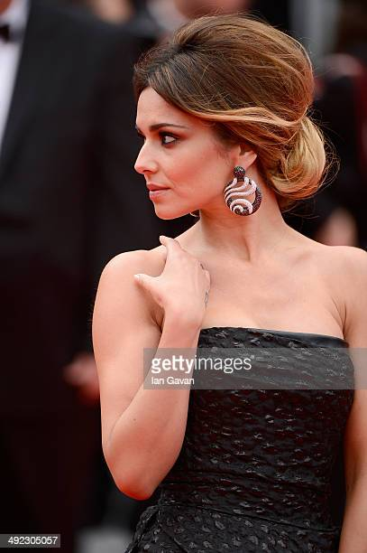 """Cheryl Cole attends the """"Foxcatcher"""" premiere during the 67th Annual Cannes Film Festival on May 19, 2014 in Cannes, France."""