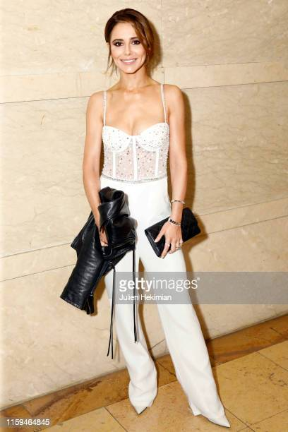 Cheryl Cole attends the Georges Hobeika Haute Couture Fall/Winter 2019 2020 show as part of Paris Fashion Week on July 01 2019 in Paris France