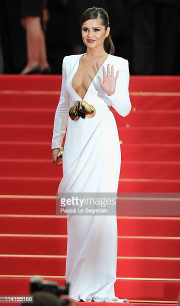 "Cheryl Cole attends the ""Habemus Papam"" premiere at the Palais des Festivals during the 64th Cannes Film Festival on May 13, 2011 in Cannes, France."