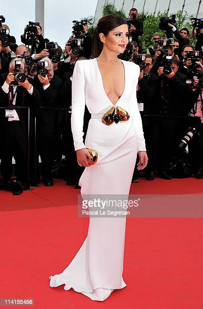 Cheryl Cole attends the Habemus Papam premiere at the Palais des Festivals during the 64th Cannes Film Festival on May 13 2011 in Cannes France