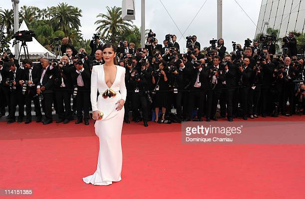 """Cheryl Cole attends the """"Habemus Papam"""" Premiere during the 64th Annual Cannes Film Festival at the Palais des Festivals on May 13, 2011 in Cannes,..."""