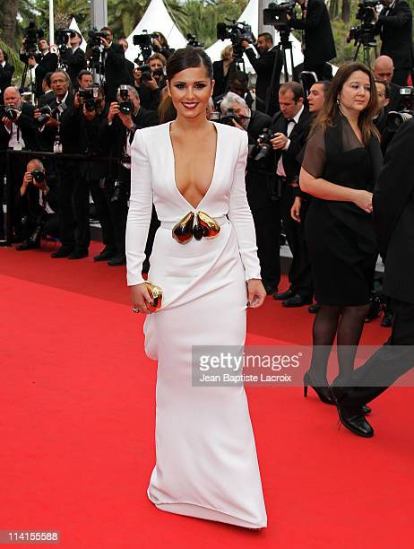 Cheryl Cole attends the 'Habemus Papam' Premiere during the 64th Annual Cannes Film Festival at Palais des Festivals on May 13 2011 in Cannes France