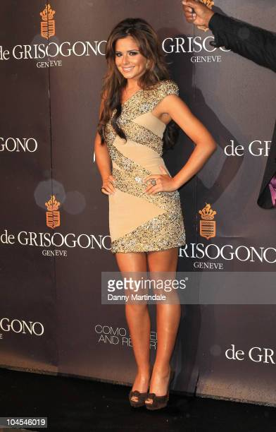 Cheryl Cole attends the jewellery launch of 'Promise: de Grisogono by Cheryl Cole' at Nobu on September 29, 2010 in London, England.