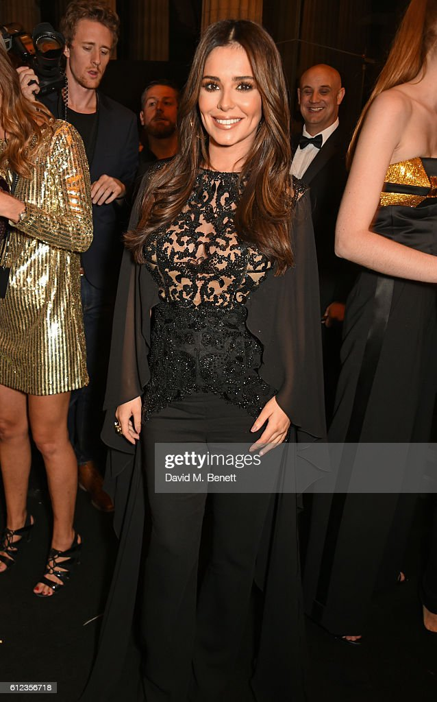 Cheryl Cole attends the L'Oreal Paris Gold Obsession Party at Hotel de la Monnaie on October 2, 2016 in Paris, France.