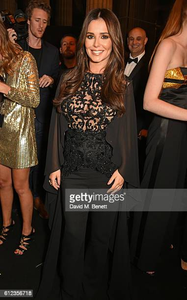Cheryl Cole attends the L'Oreal Paris Gold Obsession Party at Hotel de la Monnaie on October 2 2016 in Paris France