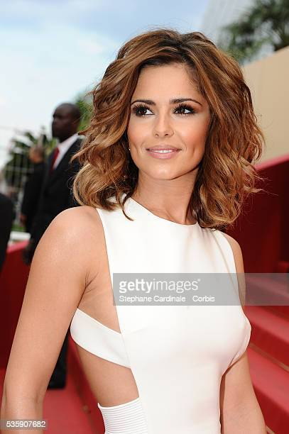 Cheryl Cole attends the 'Outside of the law' Premiere during the 63rd Cannes International Film Festival