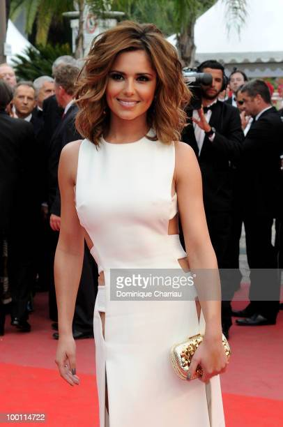 Cheryl Cole attends the 'Outside the Law' Premiere at the Palais des Festivals during the 63rd Annual International Cannes Film Festival on May 21...