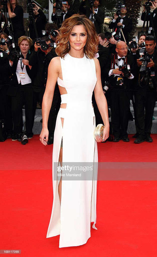 Cheryl Cole attends the 'Outside the Law' Premiere at the Palais des Festivals during the 63rd Annual International Cannes Film Festival on May 21, 2010 in Cannes, France.