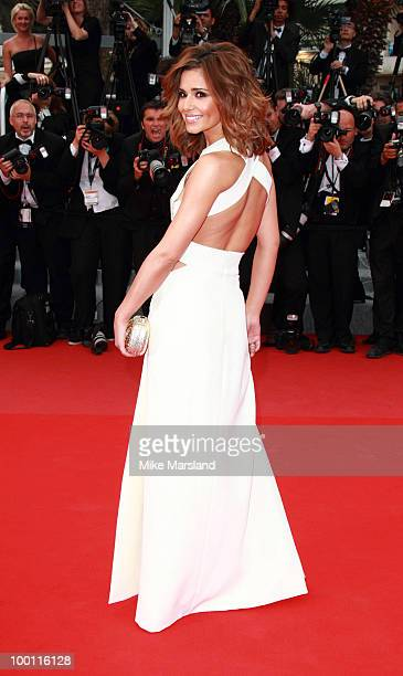 Cheryl Cole attends the 'Outside the Law' Premiere held at the Palais des Festivals during the 63rd Annual International Cannes Film Festival on May...