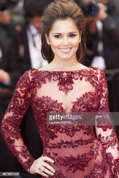 Cheryl Cole attends the Premiere of 'Jimmy P ' at The 66th Annual Cannes Film Festival on May 18 2013 in Cannes France