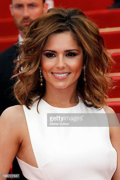 Cheryl Cole attends the premiere of 'Outside Of The Law' at the Palais des Festivals during the 63rd Annual Cannes Film Festival on May 21 2010 in...