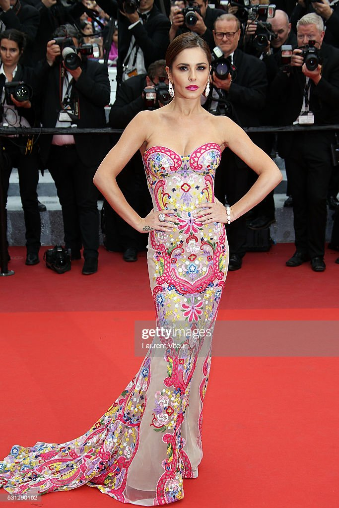 Cheryl Cole attends the 'Slack Bay (Ma Loute)' premiere during the 69th annual Cannes Film Festival at the Palais des Festivals on May 13, 2016 in Cannes, .