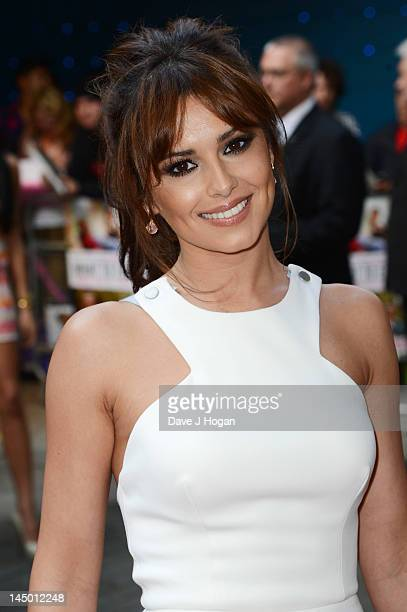 Cheryl Cole Fringe Stock Pictures