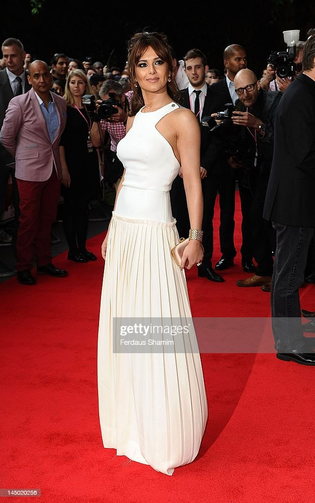Cheryl Cole attends the UK premiere of 'What To Expect When You're Expecting' at BFI IMAX on May 22, 2012 in London, England.