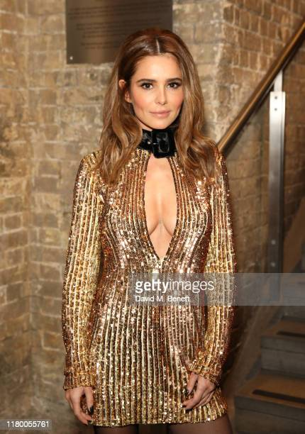 Cheryl Cole attends the Virgin Atlantic Attitude Awards 2019 at The Roundhouse on October 09, 2019 in London, England.