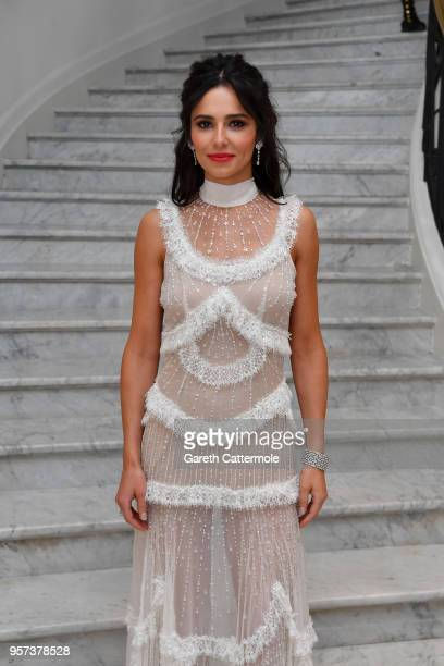 Cheryl Cole departs the Martinez during the 71st annual Cannes Film Festival at on May 11 2018 in Cannes France