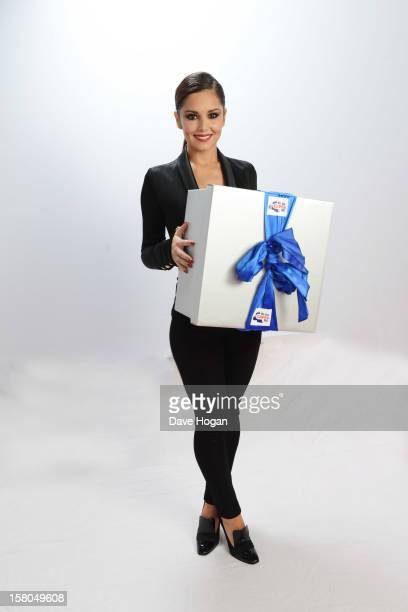 Cheryl Cole poses for a portrait at The Capital FM Jingle Bell Ball at The O2 Arena on December 9 2012 in London England