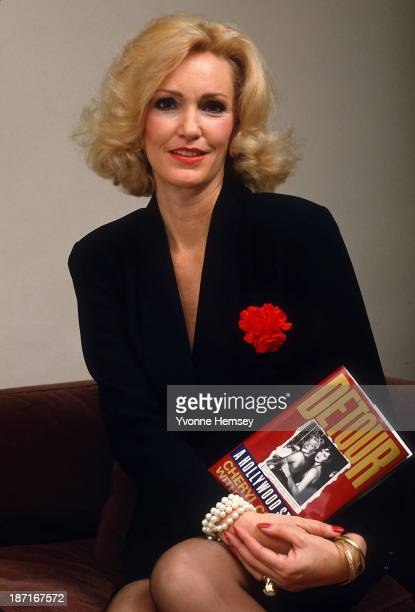 Cheryl Crane daughter of actress Lana Turner and second husband Stephen Crane is photographed January 12 1988 in New York City promoting her...