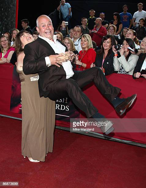 Cheryl Fergison and Cliff Parisi attend the British Soap Awards at BBC Television Centre on May 9, 2009 in London, England.