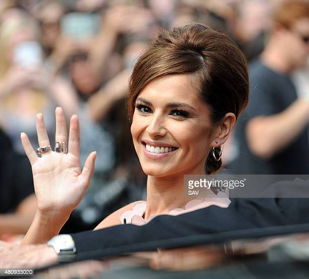 Cheryl Fernandez Versini arrives at The X Factor Auditions at Wembley on July 16 2015 in London England