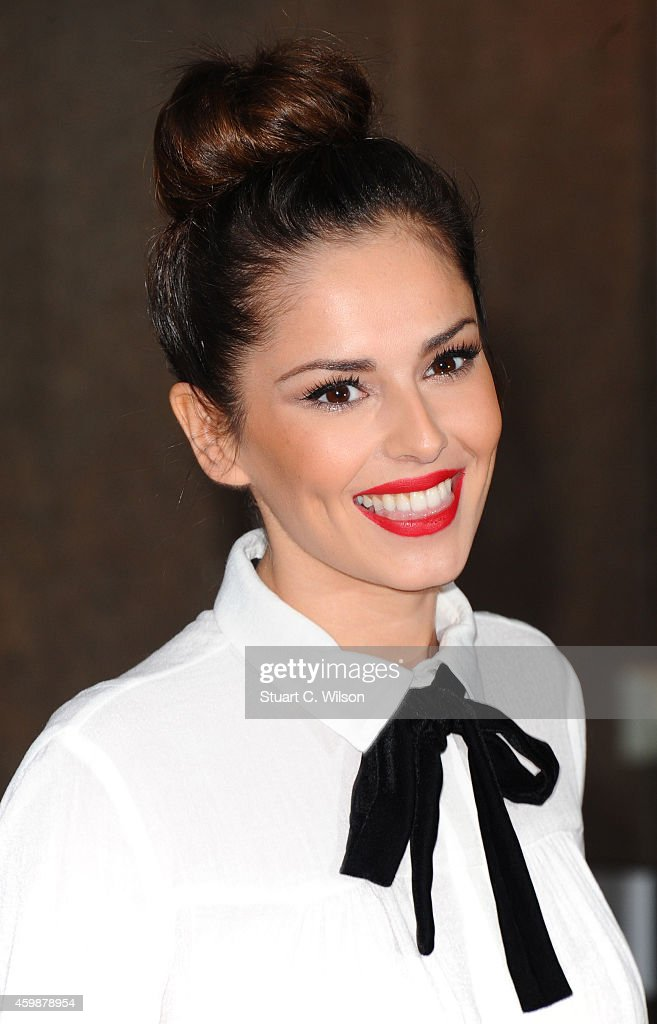 Cheryl Fernandez Versini attends The Annual ICAP Charity Day at ICAP on December 3, 2014 in London, England.