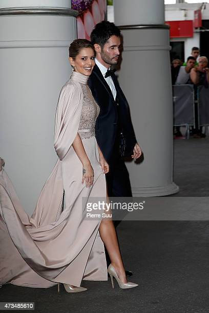 Cheryl FernandezVersini and JeanBernard FernandezVersini sighted during the 68th annual Cannes Film Festival on May 15 2015 in Cannes France