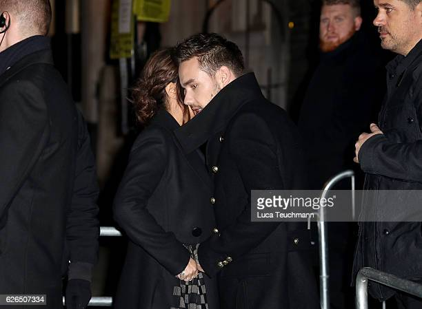 Cheryl FernandezVersini and Liam Payne attends switches on the christmas lights at The Fayre of St James' at St James' Church on November 29 2016 in...