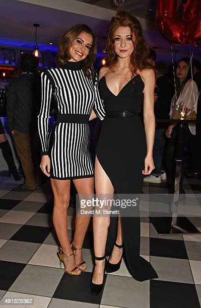 Cheryl FernandezVersini and Nicola Roberts attend Nicola Roberts 30th birthday party at Hotel Chantelle London organised by Love Entertainment and...