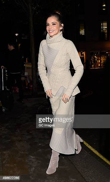 Cheryl FernandezVersini arrives at St James Church in Piccadilly to celebrate Quintessentially Foundation and The Crown Estate's fourth annual...