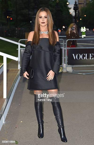 Cheryl FernandezVersini arrives for the Gala to celebrate the Vogue 100 Festival at Kensington Gardens on May 23 2016 in London England