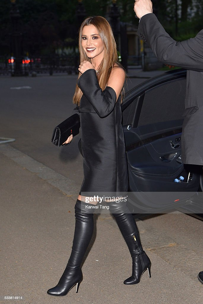 Cheryl Fernandez-Versini arrives for the Gala to celebrate the Vogue 100 Festival at Kensington Gardens on May 23, 2016 in London, England.