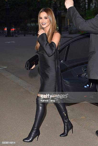 Cheryl FernandezVersini arrives for the Gala to celebrate the Vogue 100 Festival at Kensington Gardens on May 23 2016 in London England