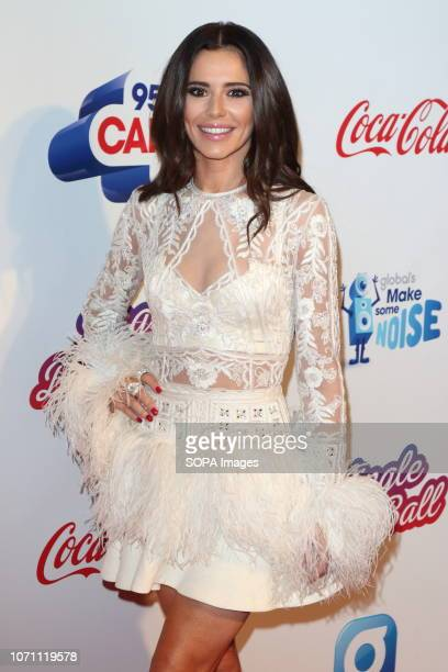 Cheryl FernandezVersini at Capital's Jingle Bell Ball with CocaCola during day two at The O2 Peninsula Square